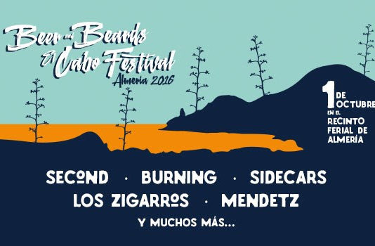 Beer and Beards El Cabo Festival en Almería