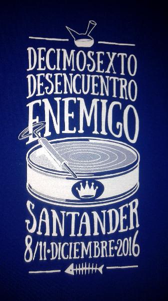 Camiseta XVI Desencuentro Enemigo