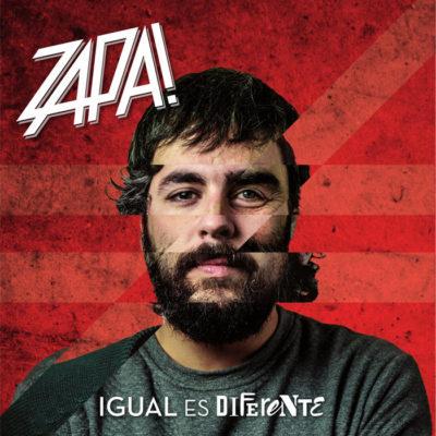 """Portada del disco """"Igual es Diferente"""" de Radio Zappa"""