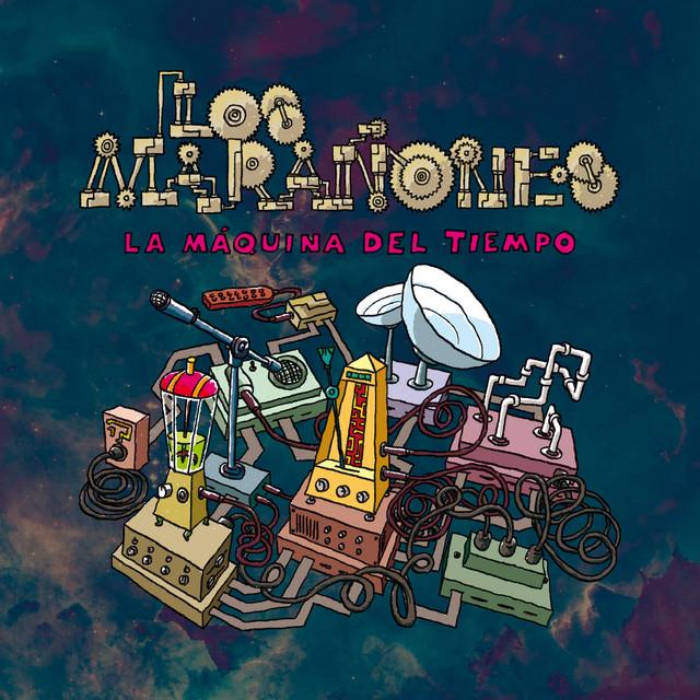 La Máquina del Tiempo. Portada del disco de Los Marañones